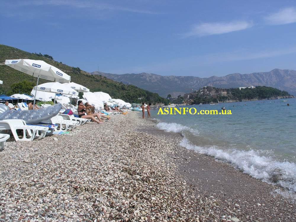 фото пляжи будвы